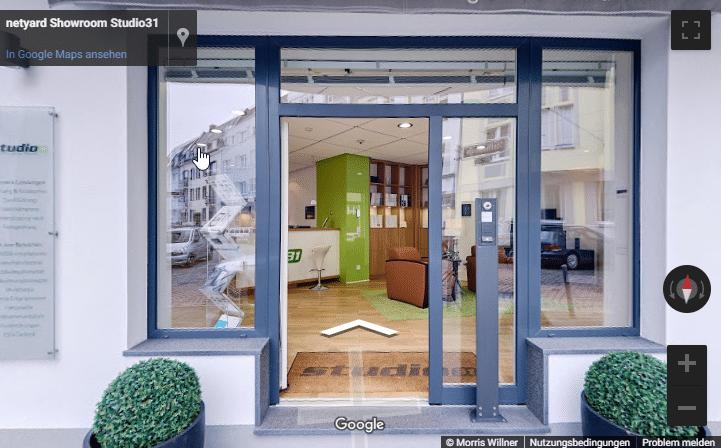netyard edv Düsseldorf demo studio 31 google 360